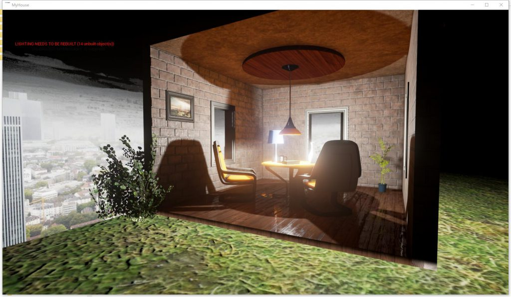 UE4.Little.House.Night