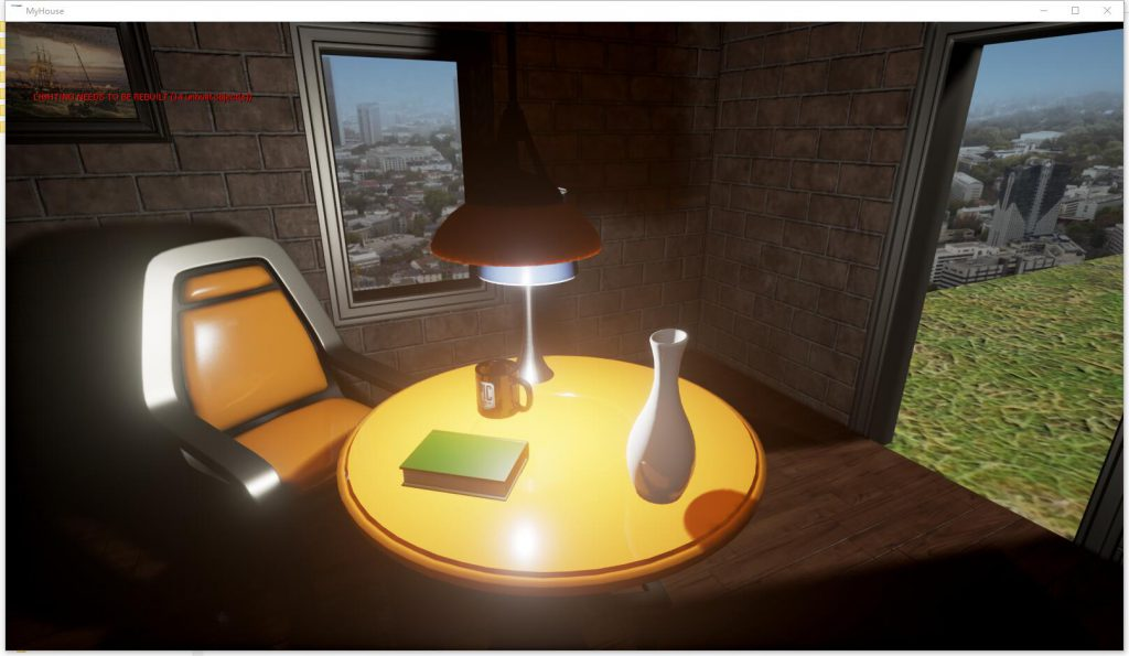 UE4.Little.House.Table